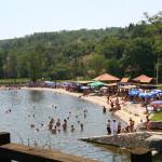 Језеро у Еко селу Коштунићи